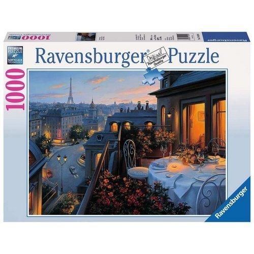 Puzzle 1000: Balcone a Parigi  (Lingua: Multilingua - Stato: Nuovo)
