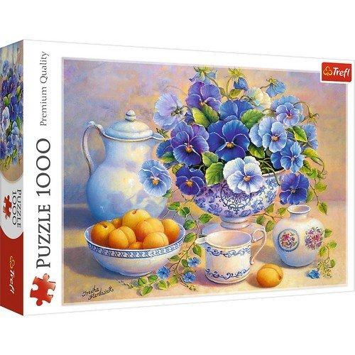 Puzzle 1000: Blue Bouquet  (Lingua: Multilingua - Stato: Nuovo)