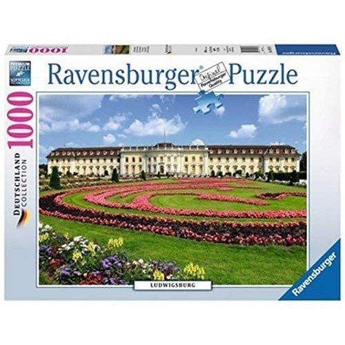 Puzzle 1000: Castello di Ludwigsburg  (Lingua: Multilingua - Stato: Nuovo)