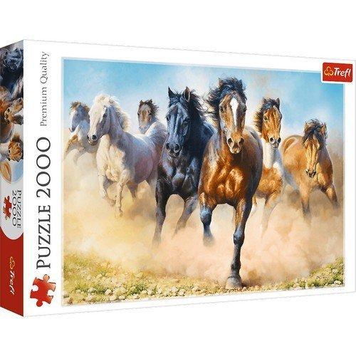 Puzzle 1000: Cavalli al Galoppo  (Lingua: Multilingua - Stato: Nuovo)