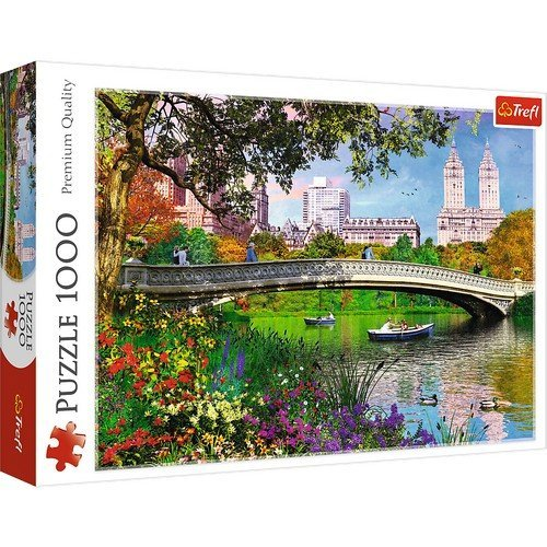 Puzzle 1000: Central Park, New York  (Language: Multilingual - Conditions: New)