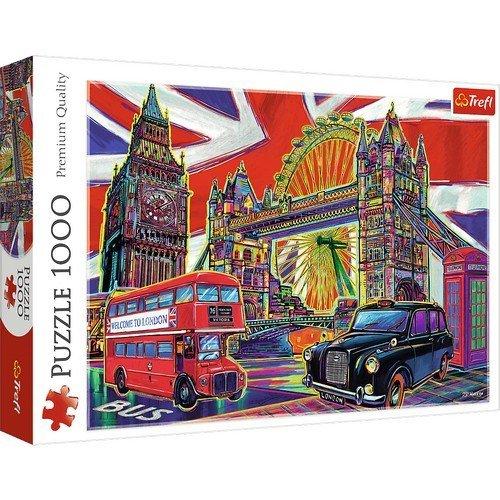 Puzzle 1000: Colori di Londra  (Lingua: Multilingua - Stato: Nuovo)