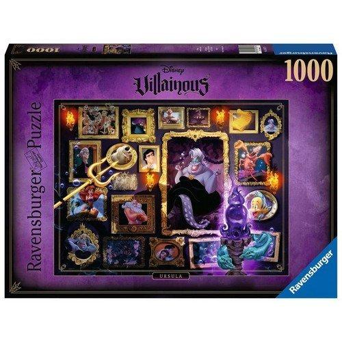 Puzzle 1000: Disney Villainous, Ursula  (Lingua: Multilingua - Stato: Nuovo)