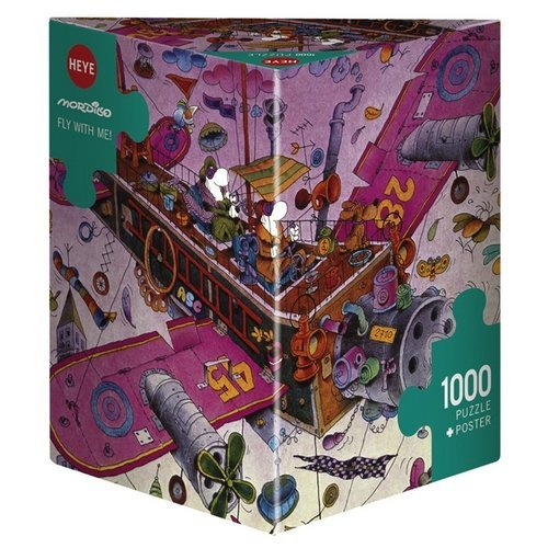 Puzzle 1000: Fly with Me!  (Stato: Nuovo)