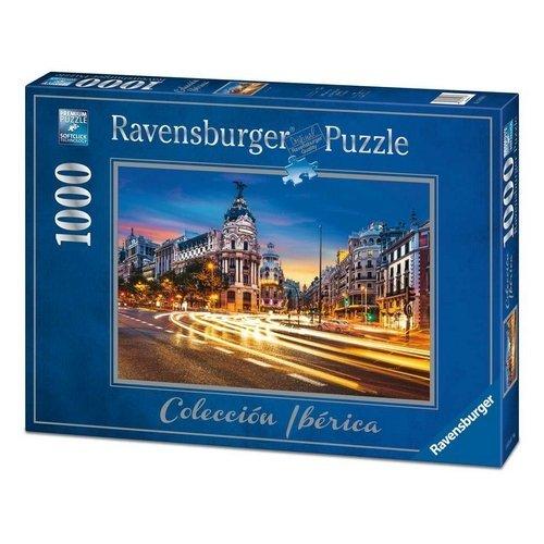 Puzzle 1000: Gran Via, Madrid  (Lingua: Multilingua - Stato: Nuovo)
