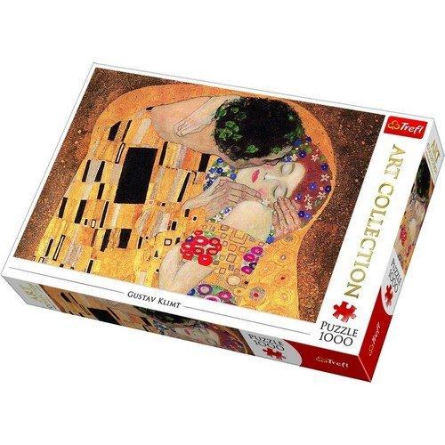 Puzzle 1000: Il Bacio, Gustav Klimt  (Lingua: Multilingua - Stato: Nuovo)