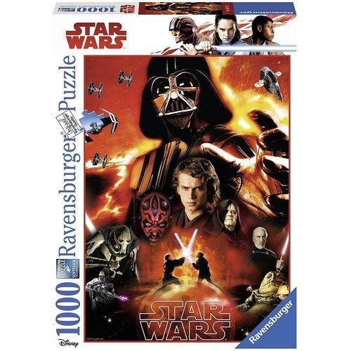 Puzzle 1000: Il Lato Oscuro di Star Wars  (Lingua: Multilingua - Stato: Nuovo)