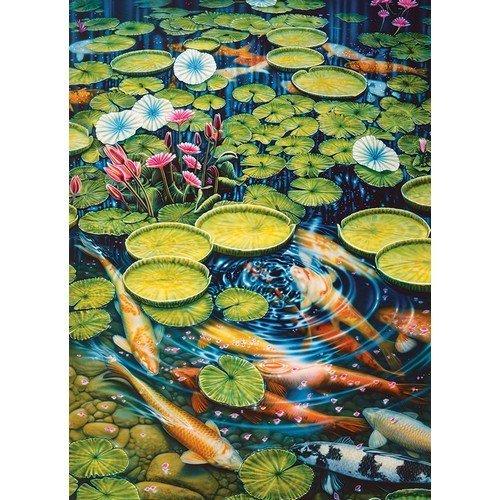 Puzzle 1000: Koi Pond  (Lingua: Multilingua - Stato: Nuovo)