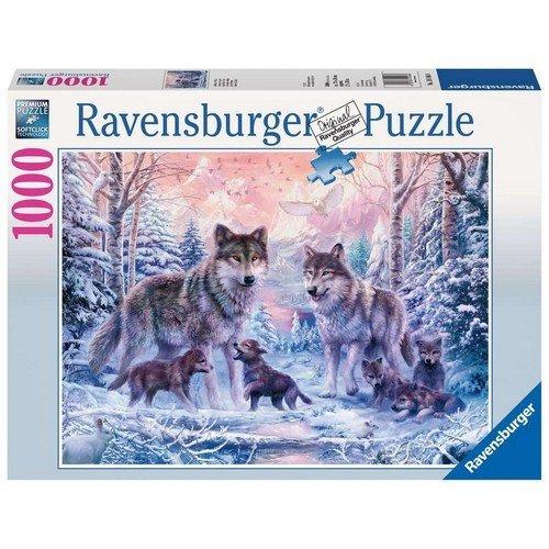 Puzzle 1000: Lupi dell'Artico  (Lingua: Multilingua - Stato: Nuovo)