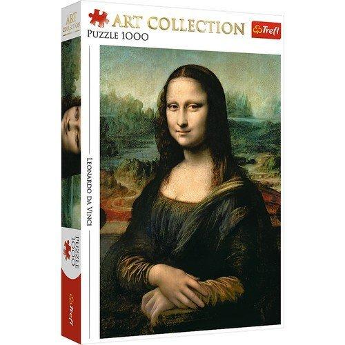 Puzzle 1000: Mona Lisa, Leonardo da Vinci  (Lingua: Multilingua - Stato: Nuovo)
