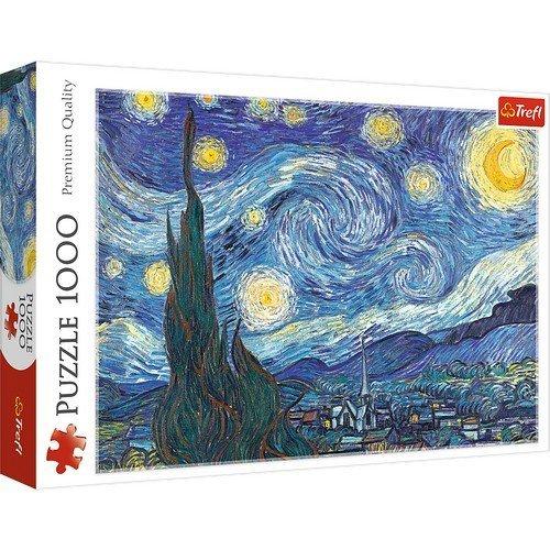 Puzzle 1000: Notte Stellata, Vincent van Gogh  (Lingua: Multilingua - Stato: Nuovo)