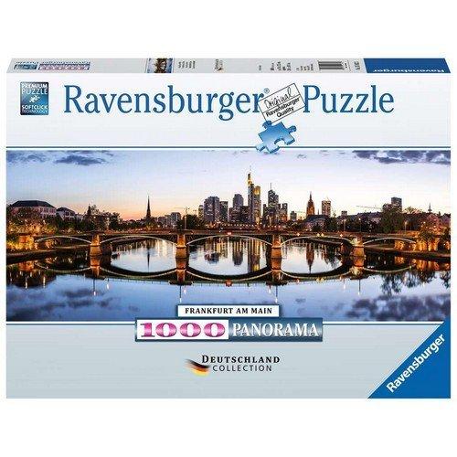 Puzzle 1000 Panorama: Alba a Francoforte  (Lingua: Multilingua - Stato: Nuovo)