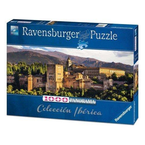 Puzzle 1000 Panorama: Alhambra, Granada  (Lingua: Multilingua - Stato: Nuovo)