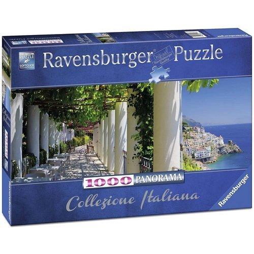 Puzzle 1000 Panorama: Amalfi  (Lingua: Multilingua - Stato: Nuovo)