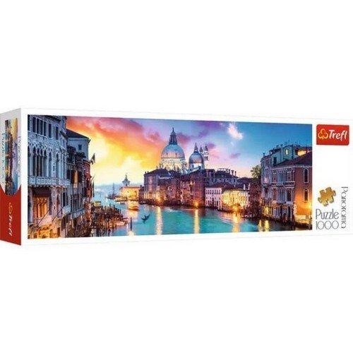 Puzzle 1000 Panorama: Canal Grande, Venezia  (Lingua: Multilingua - Stato: Nuovo)