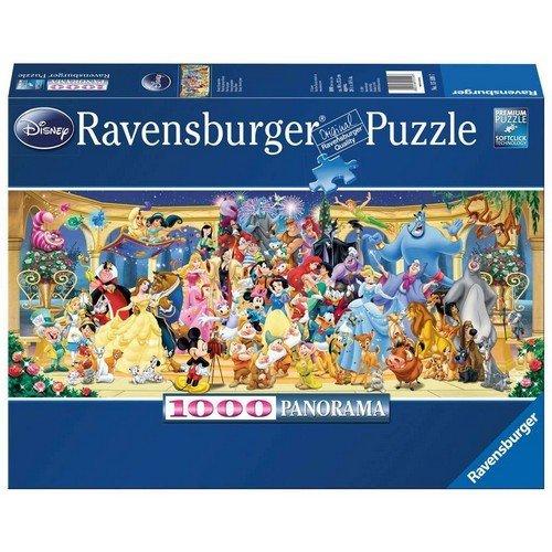 Puzzle 1000 Panorama: Foto di Gruppo Disney  (Lingua: Multilingua - Stato: Nuovo)