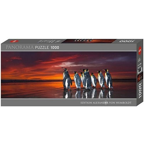 Puzzle 1000 Panorama: King Penguins  (Stato: Nuovo)