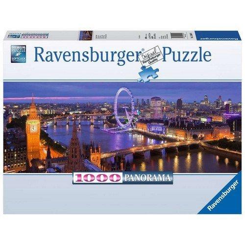 Puzzle 1000 Panorama: Londra di Notte  (Lingua: Multilingua - Stato: Nuovo)