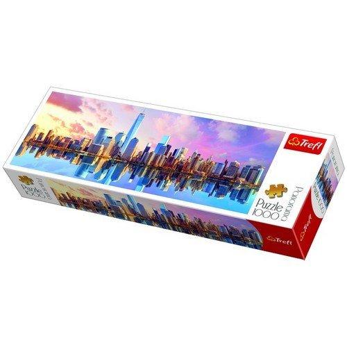 Puzzle 1000 Panorama: Manhattan, New York  (Lingua: Multilingua - Stato: Nuovo)