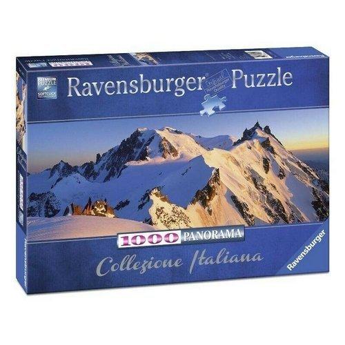 Puzzle 1000 Panorama: Monte Bianco  (Stato: Nuovo)