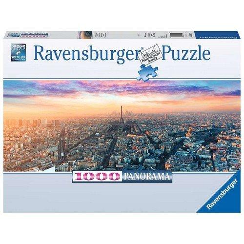 Puzzle 1000 Panorama: Parigi e le Luci del Mattino  (Lingua: Multilingua - Stato: Nuovo)