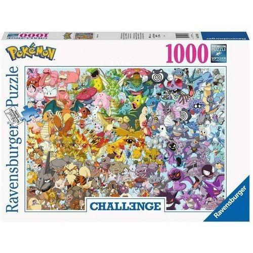 Puzzle 1000: Pokemon Challenge  (Lingua: Multilingua - Stato: Nuovo)