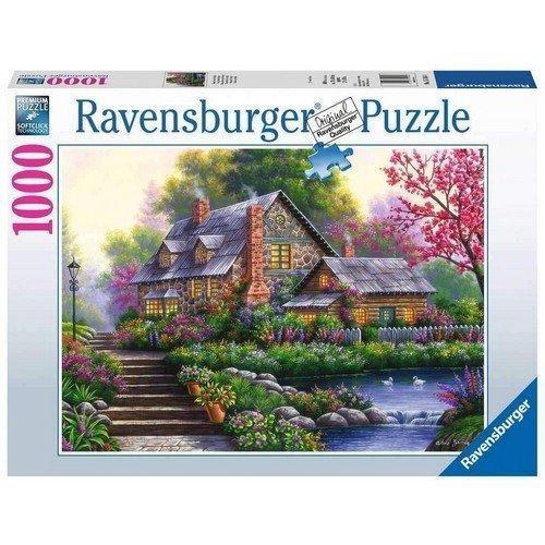 Puzzle 1000: Romantica Casa di Campo  (Lingua: Multilingua - Stato: Nuovo)