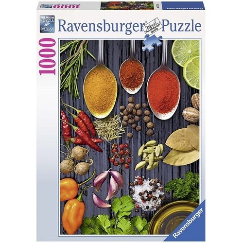 Puzzle 1000: Spezie sul Tavolo  (Lingua: Multilingua - Stato: Nuovo)