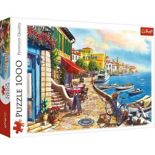 Puzzle 1000: Sunny Embarkment  (Lingua: Multilingua - Stato: Nuovo)
