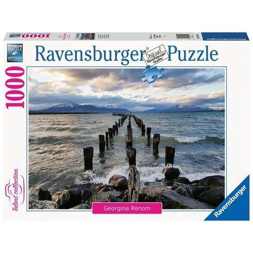 Puzzle 1000 Talent Collection: Puerto Natales, Cile  (Lingua: Multilingua - Stato: Nuovo)