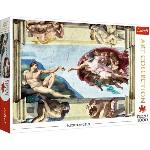 Puzzle 1000: The Creation of Adam  (Language: Multilingual - Conditions: New)