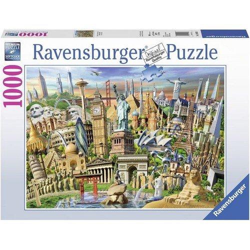 Puzzle 1000: World Landmarks  (Lingua: Multilingua - Stato: Nuovo)