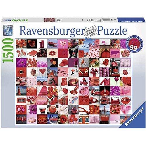 Puzzle 1500: 99 Belle Cose Rosse  (Lingua: Multilingua - Stato: Nuovo)