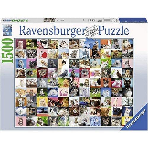 Puzzle 1500: 99 Gatti  (Lingua: Multilingua - Stato: Nuovo)