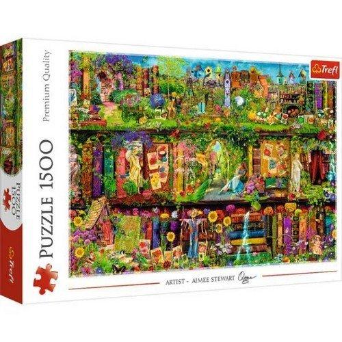 Puzzle 1500: Libreria delle Fate  (Lingua: Multilingua - Stato: Nuovo)