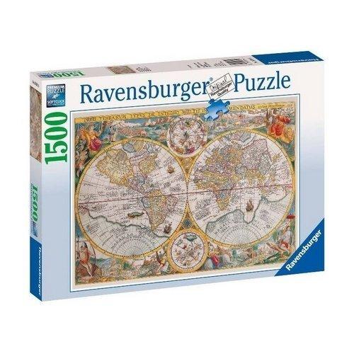 Puzzle 1500: Mappamondo 1594  (Lingua: Multilingua - Stato: Nuovo)