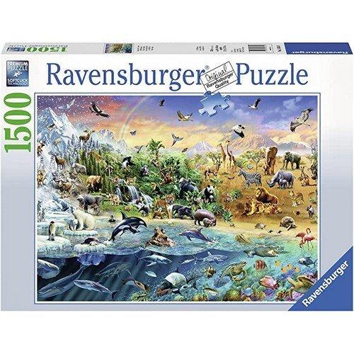 Puzzle 1500: Mondo Selvaggio  (Lingua: Multilingua - Stato: Nuovo)