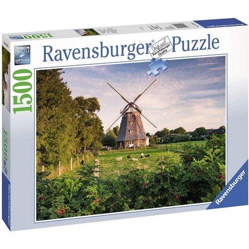 Puzzle 1500: Mulino a Vento sul Baltico  (Lingua: Multilingua - Stato: Nuovo)