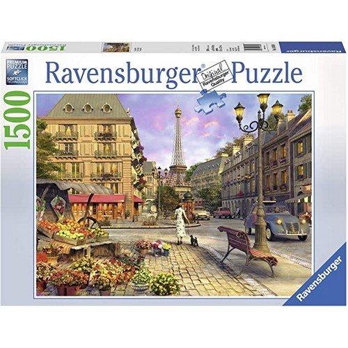 Puzzle 1500: Parigi Vintage  (Lingua: Multilingua - Stato: Nuovo)