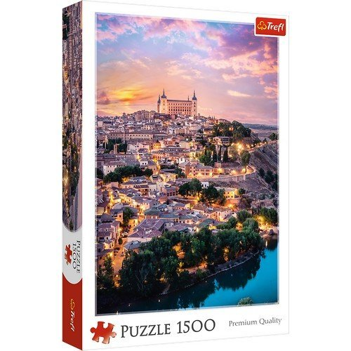 Puzzle 1500: Toledo, Spagna  (Lingua: Multilingua - Stato: Nuovo)