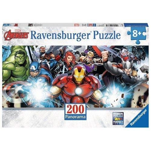 Puzzle 200 XXL: Avengers Super Eroi al Completo  (Lingua: Multilingua - Stato: Nuovo)