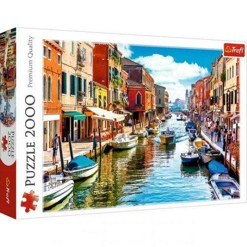 Puzzle 2000: Isola di Murano, Venezia  (Lingua: Multilingua - Stato: Nuovo)