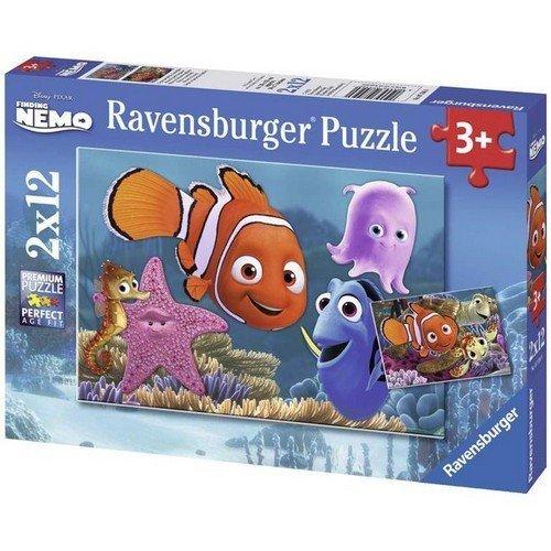 Puzzle 2x12: Disney, Nemo, il Piccolo Fuggitivo  (Lingua: Multilingua - Stato: Nuovo)