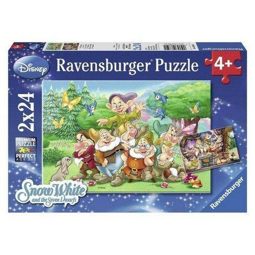 Puzzle 2x24 Biancaneve e i Sette Nani  (Lingua: Multilingua - Stato: Nuovo)