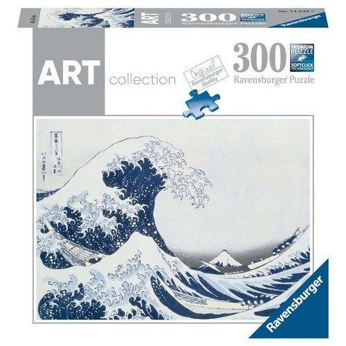 Puzzle 300: Hokusai, The Great Wave off Kanagawa  (Lingua: Multilingua - Stato: Nuovo)