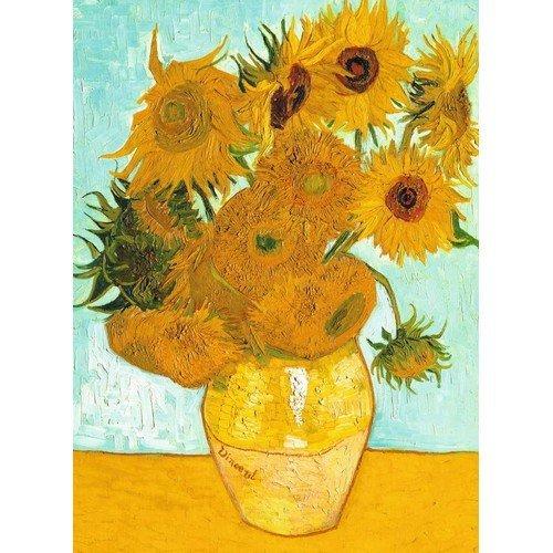 Puzzle 300: Vincent van Gogh, Girasoli, 1888  (Lingua: Multilingua - Stato: Nuovo)