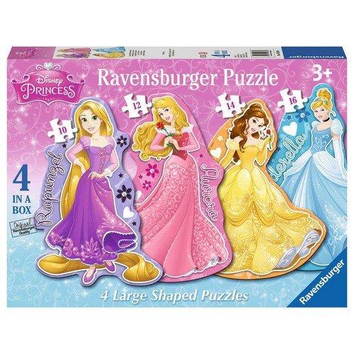 Puzzle 4x: Sagomati Principesse  (Lingua: Multilingua - Stato: Nuovo)
