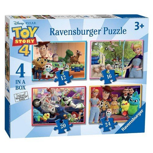 Puzzle 4x: Disney Toy Story, 3, 2, 1, Vai!  (Lingua: Multilingua - Stato: Nuovo)