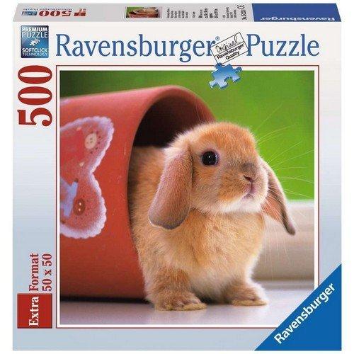 Puzzle 500: Dolce Coniglietto  (Lingua: Multilingua - Stato: Nuovo)
