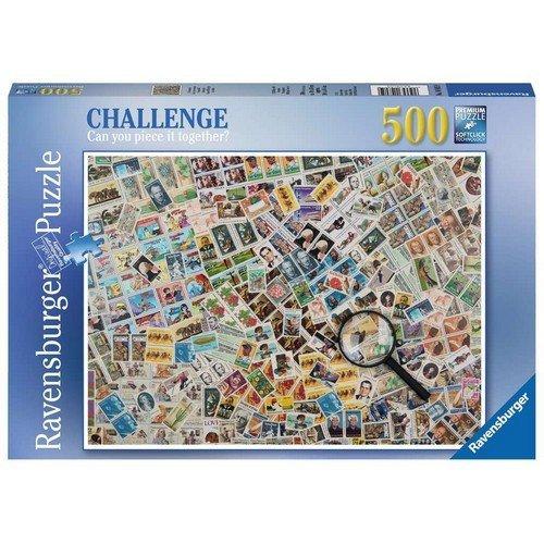 Puzzle 500: Francobolli  (Lingua: Multilingua - Stato: Nuovo)